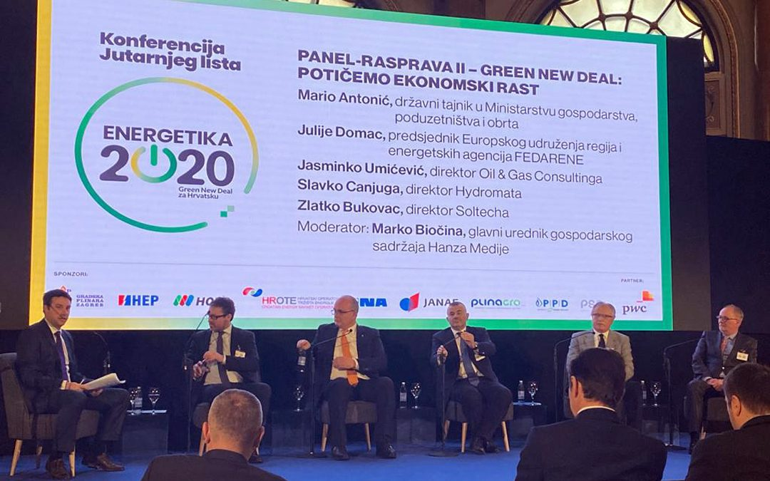 Soltech sudjelovao na panel raspravi konferencije Energetika 2020, Green New Deal za Hrvatsku